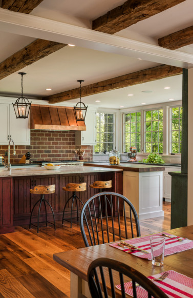 warwick-pa-kitchen-wood-beam-ceiling-meadowbank-designs