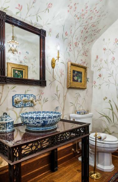 bathroom-floral-wallpaper-china-sink
