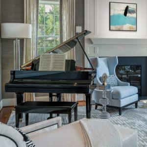 Modern Living Room Zoom