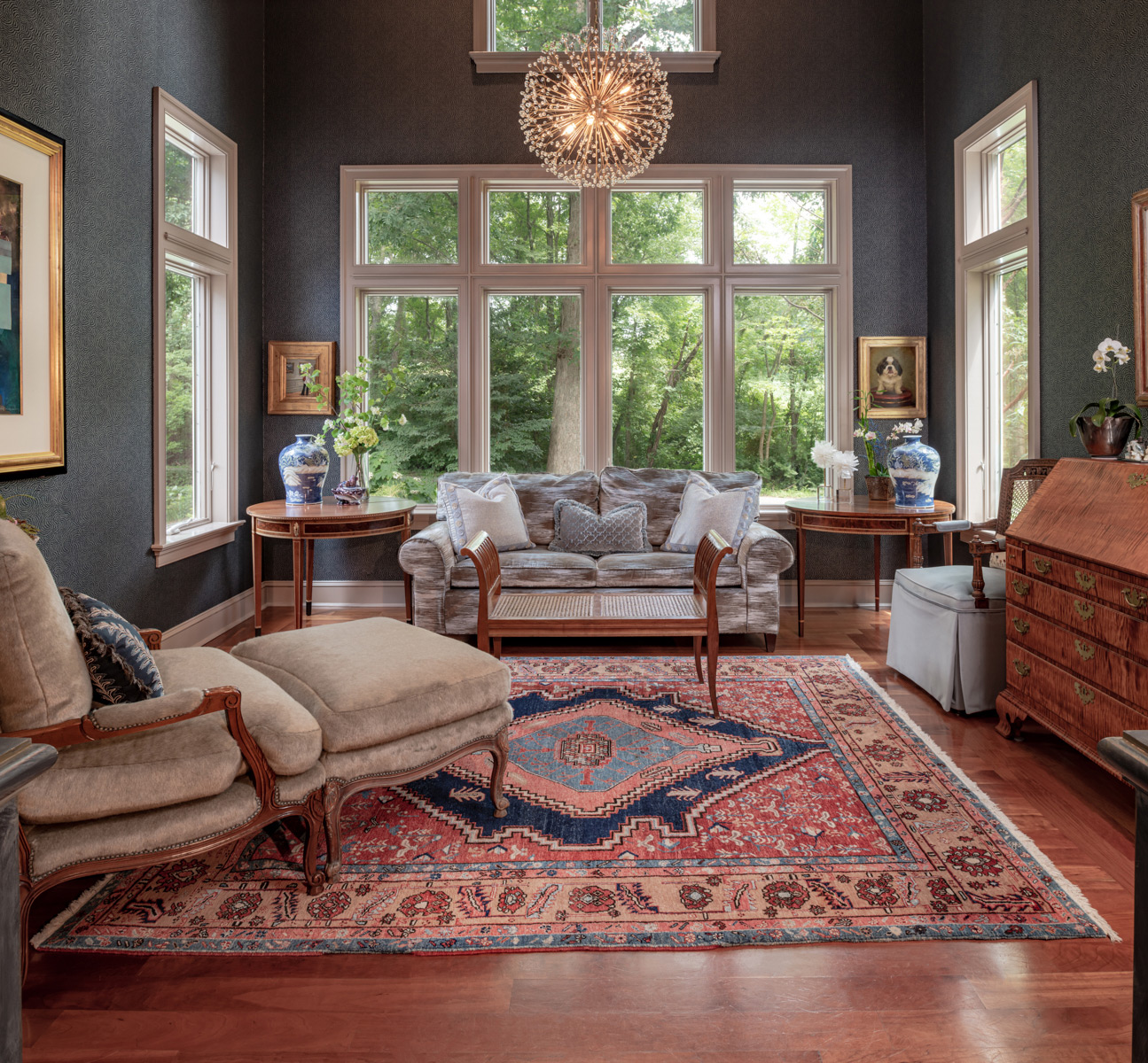 Chaddsford Pa Study Meadowbank Designs