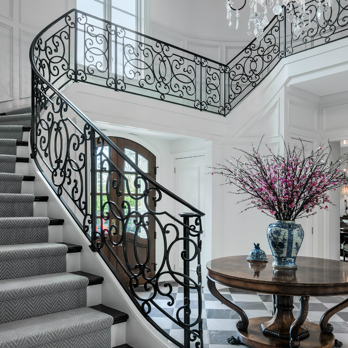 Staircase Foyer Meadowbank Interior Design
