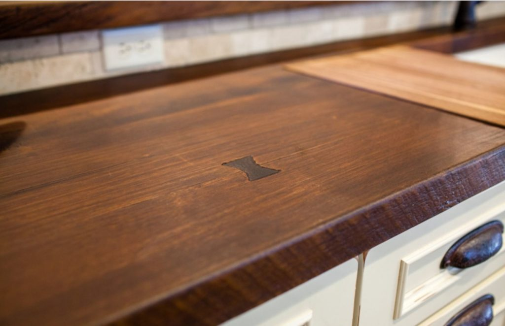 Counter Top Details Faux Wood Meadowbank Interior Design