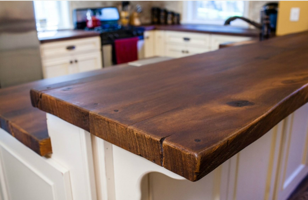 Counter Top Faux Wood Details Meadowbank Designs