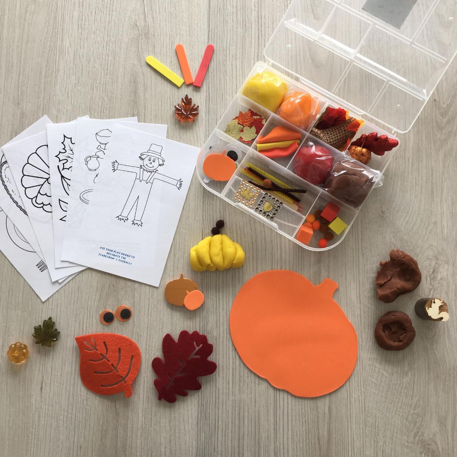 Kids Activity Kit From Hometown Creative Etsy