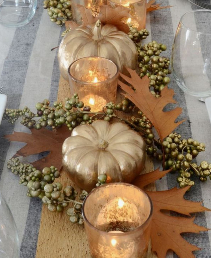 Mini Table Decorations Thanksgiving Meadowbank Interior Design