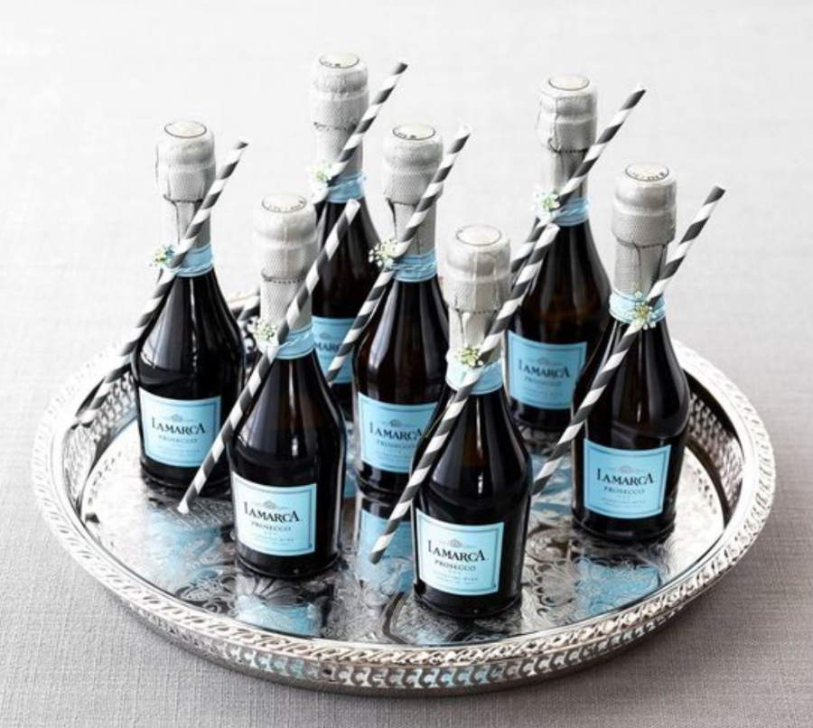 Personal Prosecco Bottles Thanksgiving Inspiration Meadowbank
